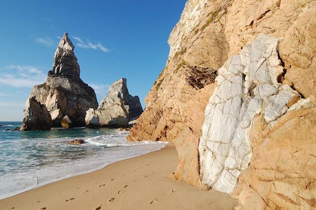 Ursa beach, in Sintra portugal