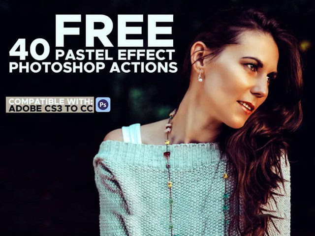 40 Photoshop Actions Pastel Effect Free