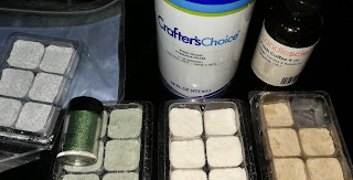 diy shower steamers colors from pigment eyeshadow fragrance oils