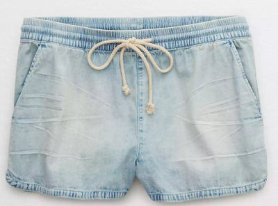 American Eagle Chambray Shorts
