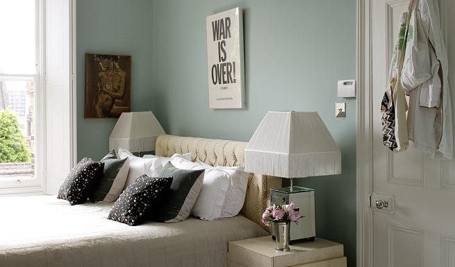Idea tu espacio c mo elegir el color de pintura para tu - Colores de pinturas para paredes de dormitorios ...