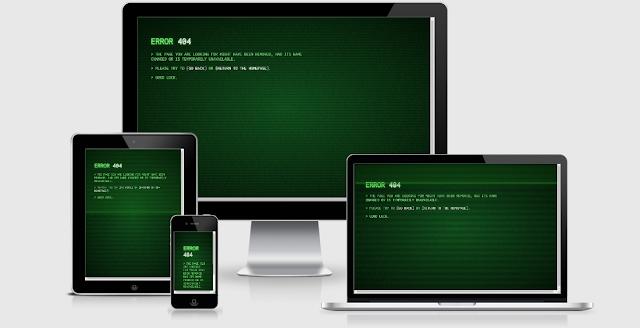 "Share Template ""404 Page Not Found !"" Trang Không Tồn Tại Cực Hay"