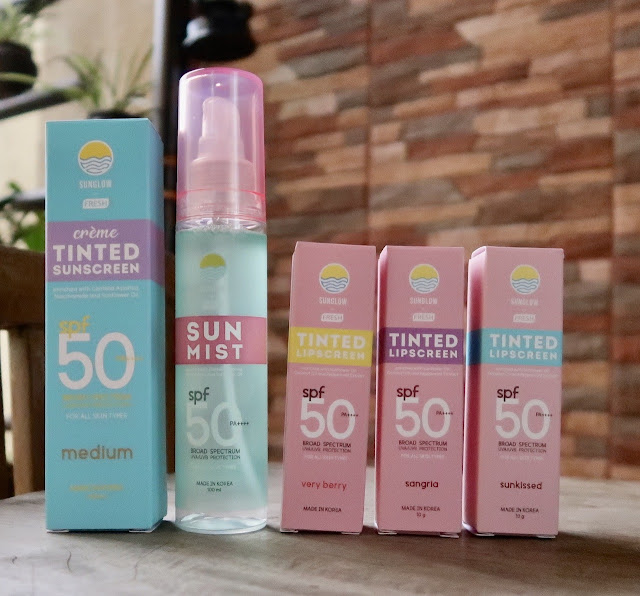 Sunglow by Fresh Rei Germar and Mae Layug review morena filipina beauty blog