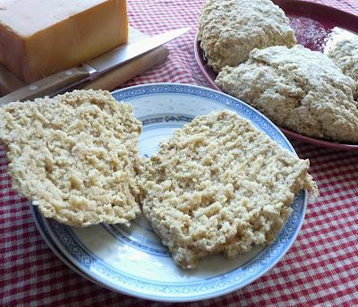 Oatmeal Farls (Soda Bread)