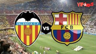 مباراة برشلونة وفالنسيا kora extra