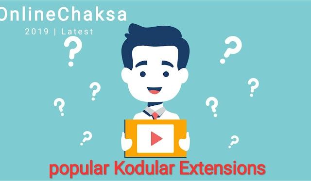 Popular Kodular Extensions  to give real look to you App (All about)