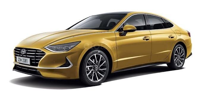 Hyundai Sonata 2021. Màu vàng chanh. Mới 98%