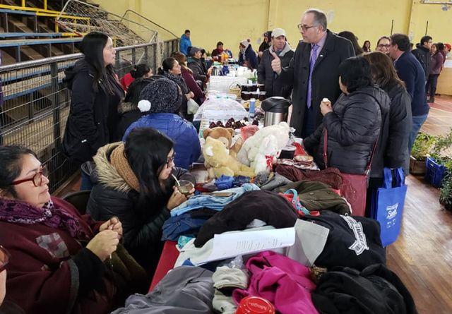 Servicios Públicos atendieron en terreno en Puaucho