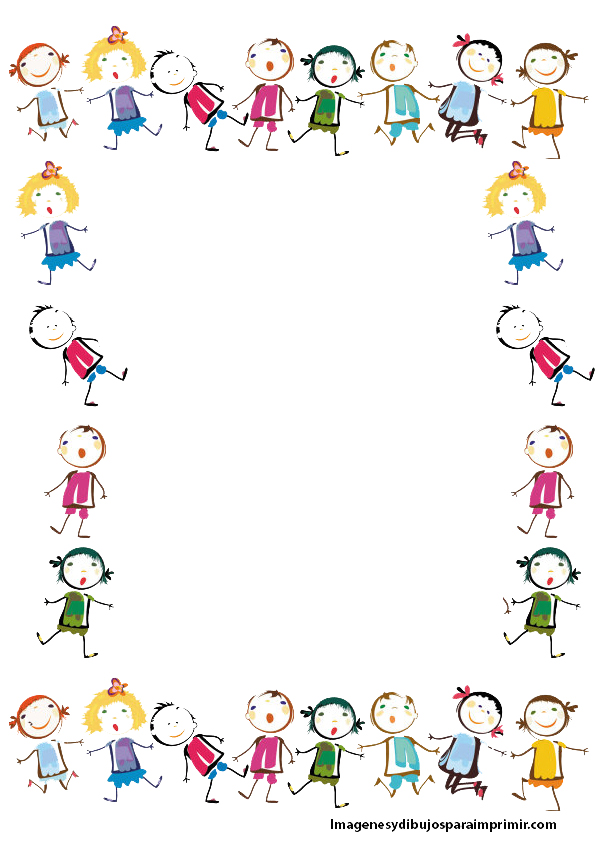 Hojas decoradas para escribir imagenes y dibujos para - Hojas decoradas para ninas ...