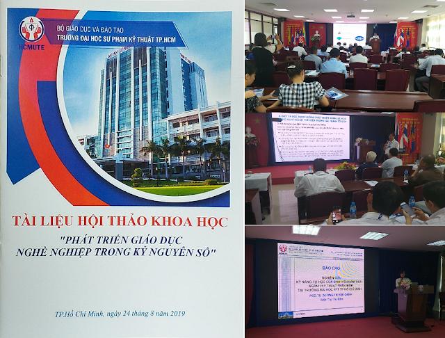 Xây dựng Khung năng lực CNTT-TT và năng lực Tài nguyên Giáo dục Mở cho các giảng viên đáp ứng các yêu cầu của CMCN4 ở Việt Nam