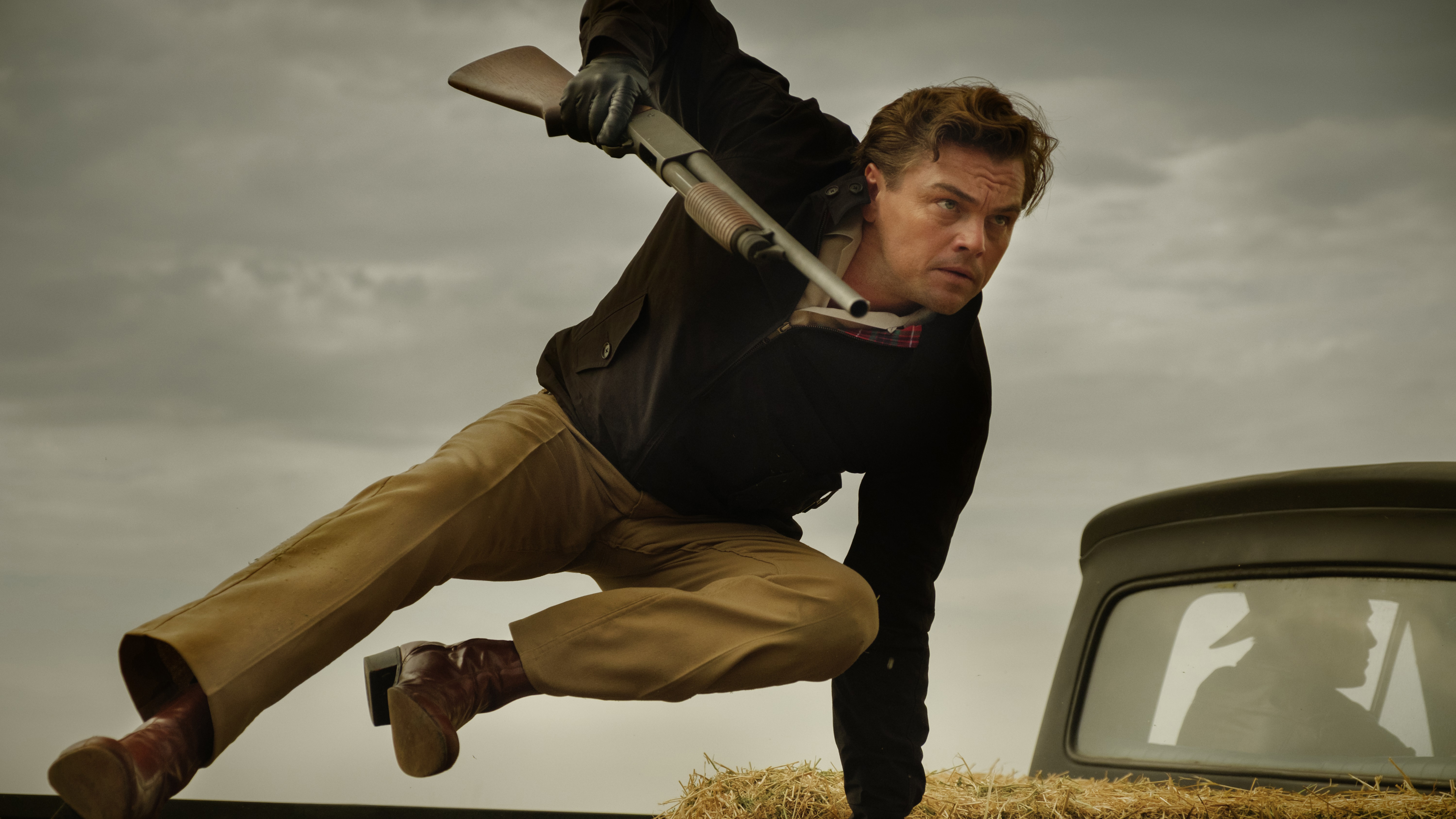 Leonardo Dicaprio Once Upon A Time In Hollywood 8k Wallpaper 1
