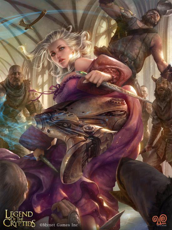 Mansik Yang artstation deviantart arte ilustrações fantasia games mulheres