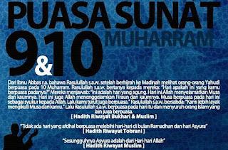 Fadhilah & Keistimewaan Puasa Tanggal 9 dan 10 Muharram ('Asyuro)