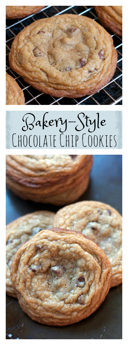 Bakery-style Chocolate Chip Cookies || A Less Processed Life