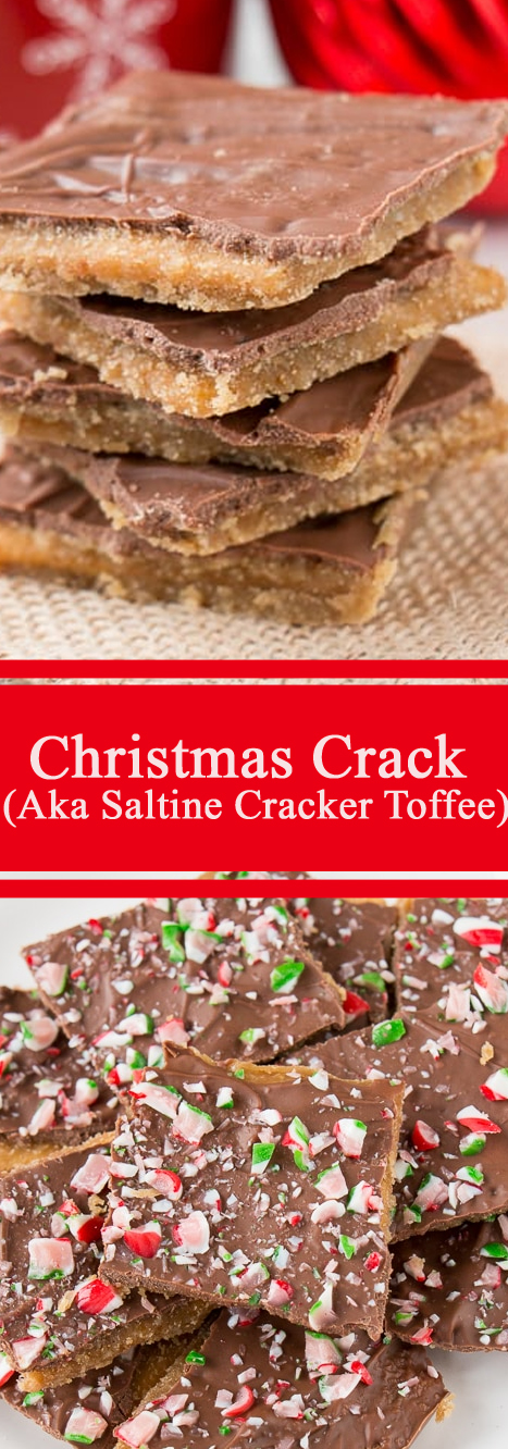 Christmas Crack (Aka Saltine Cracker Toffee)