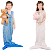 $9.99 (Reg. $19.99) + Free Ship Kid's Mermaid Tail Blanket with Halter Top!