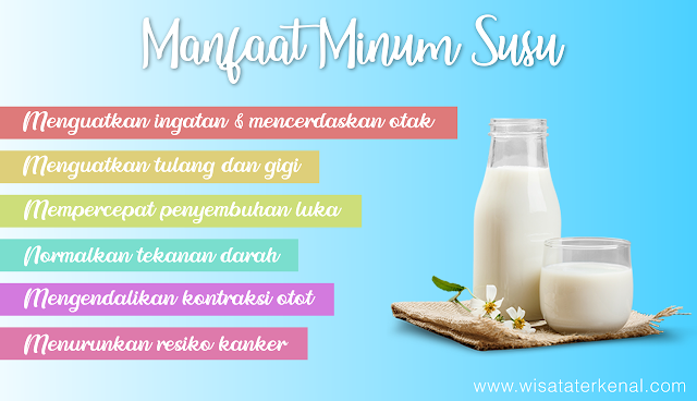 Manfaat Minum Susu untuk Kesehatan