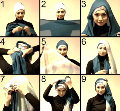 Tutorial Hijab Simple, Tutorial Hijab Simple Kebaya, Tutorial Hijab Simple Wisuda