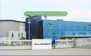 Lowongan Kerja PT Beta Pharmacon Terbaru