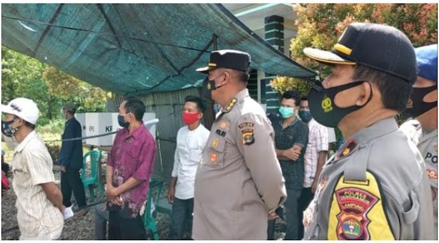 Pejabat Utama Polda Lampung Lakukan Supervisi dan Monitoring