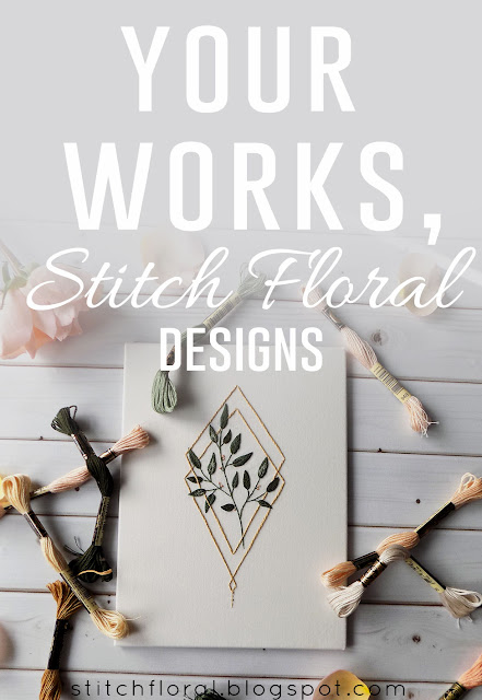 works by stitch floral designs