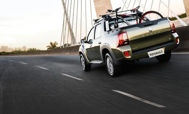 DUSTER OROCH Versatilidade de picape com o conforto de SUV