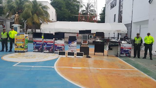 Operativo simultáneo contra Apuestas Deportivas Ilegales en Riohacha