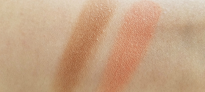 L´Oréal paris Back to Bronze Gentle Matte Bronzing Powder & Life´s a Peach Skin Awakening Blush  Swatches