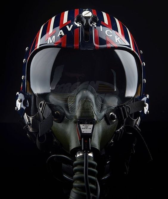 Maverick Flight Helmet