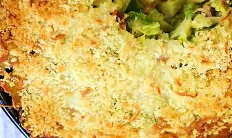 The Best Brussels Sprout Casserole