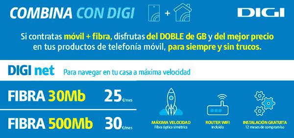 El servicio de atención de Digi saturado con su nueva oferta de fibra