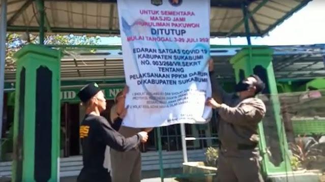 Masjid Ditutup Paksa karena Buka saat PPKM Darurat, Warga Demo Kantor Camat