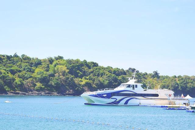 Manila to Bataan ferry boat service
