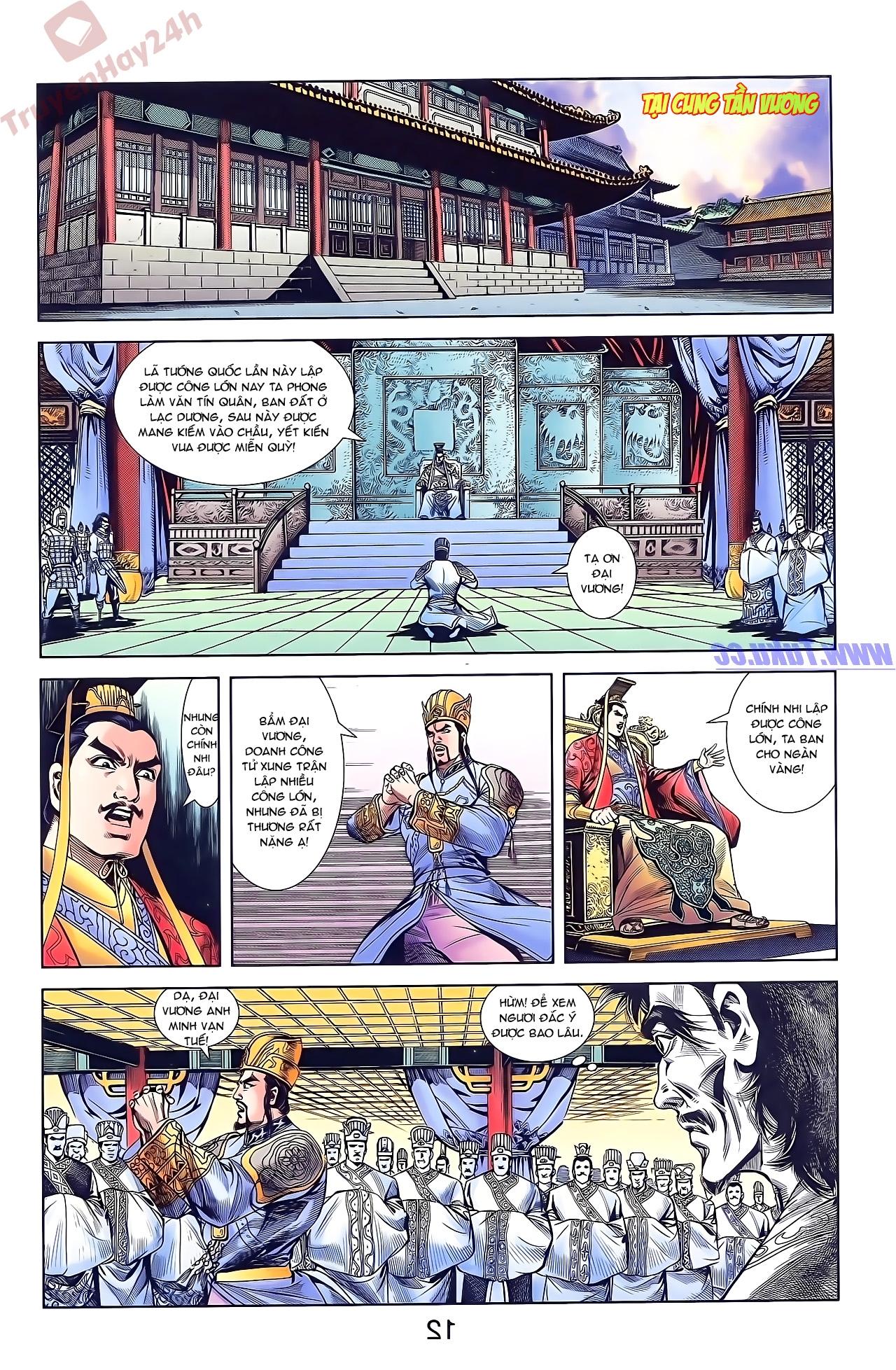 Tần Vương Doanh Chính chapter 50 trang 12
