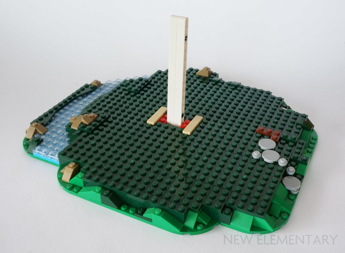 New LEGO Lot of 12 Light Bluish Gray Technic Mindstorms Pins with Stopbush