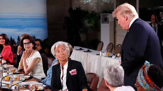 """Trump llega tarde a reunión del G7 y Justin Trudeau pide empezar sin esperar a los """"rezagados"""""""
