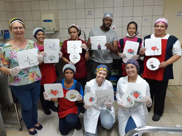 Equipe de Nutricionistas do Hospital Unimed Petrópolis
