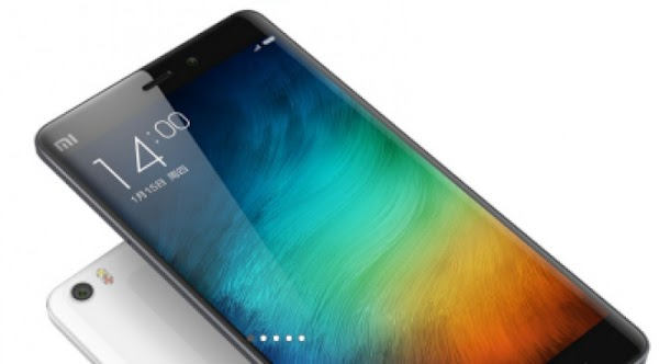 Xiaomi Mi Note 2 live images show off the phone's curves