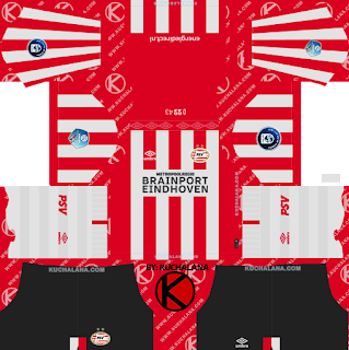PSV Eindhoven 2019/2020 Kit - Dream League Soccer Kits