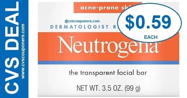 Neutrogena Facial Bar CVS Deal $0.59 7-11-7-17