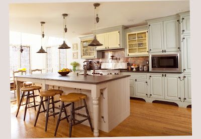 Country Kitchen Decor Images With Dinning Table White Paint Best Design