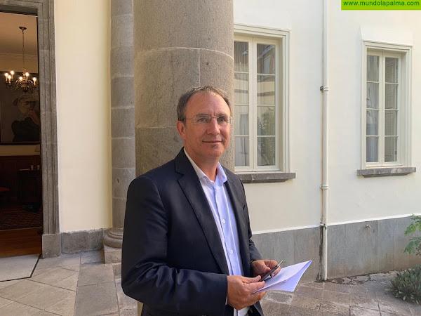 """Sergio Rodríguez: """"Las ayudas del Gobierno de Canarias para autónomos y pymes llegan mal y tarde y son insuficientes"""""""