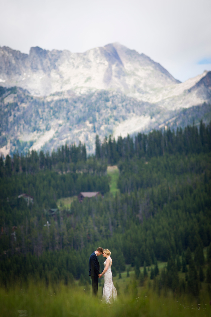 Montana Wedding / Eye in the Sky Photography / Big Sky Resort / Flowers: Katalin Green