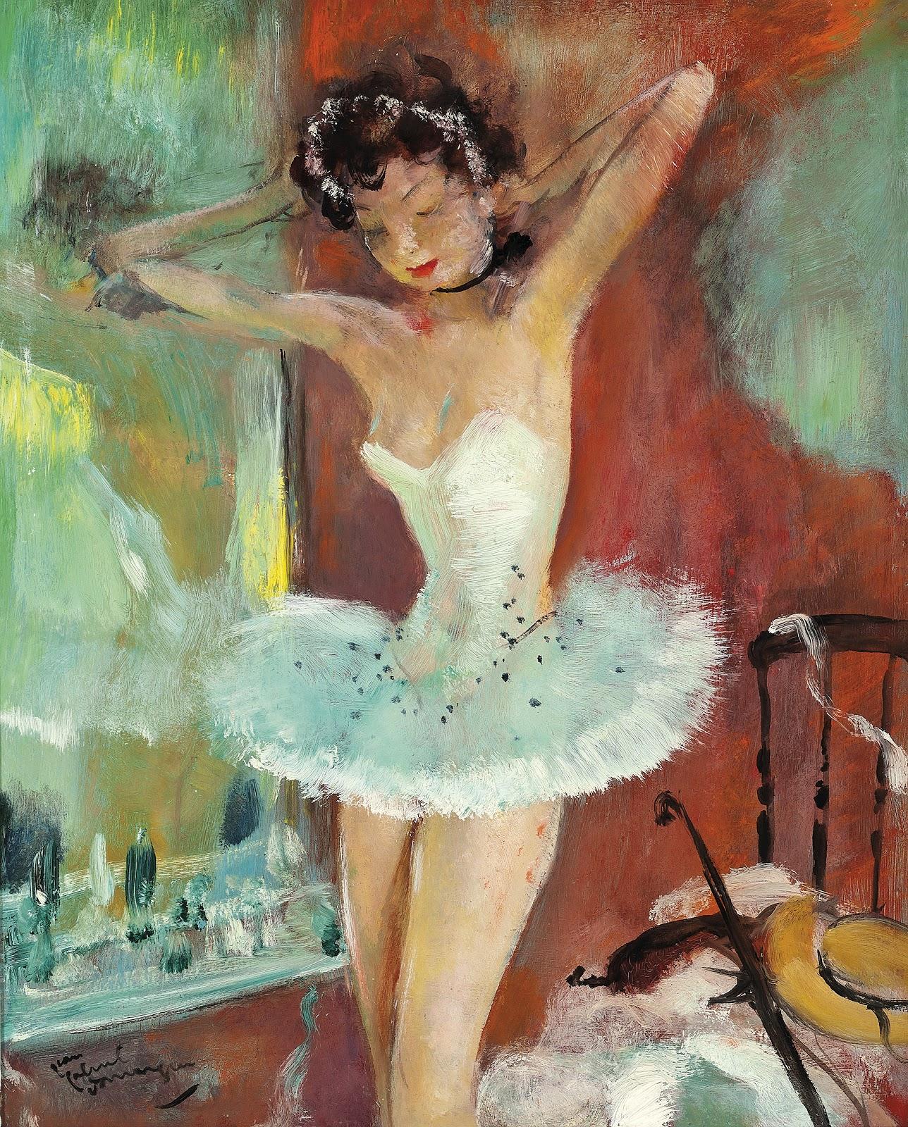 Jean Gabriel Domergue Zina danseuse
