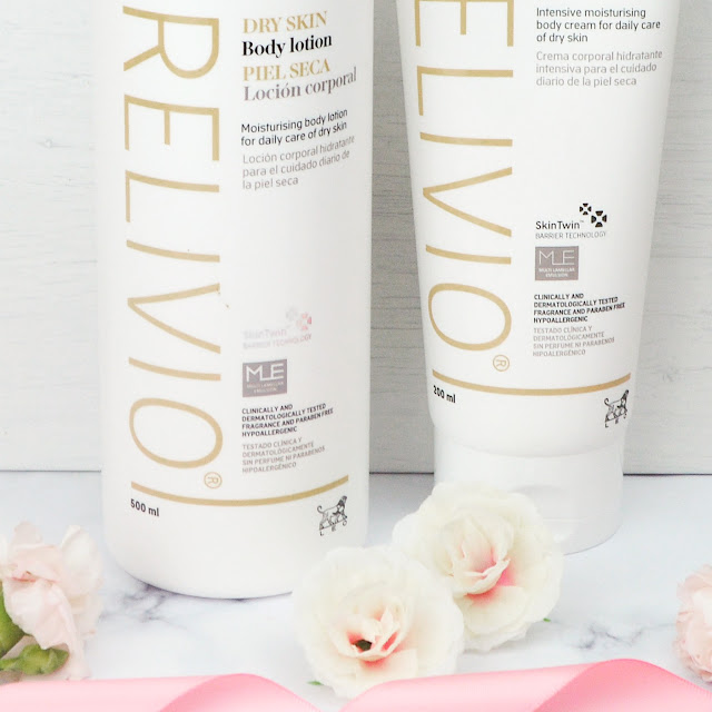HelloSkin Giveaway - Relivio Dry Skin Body Lotion and Cream