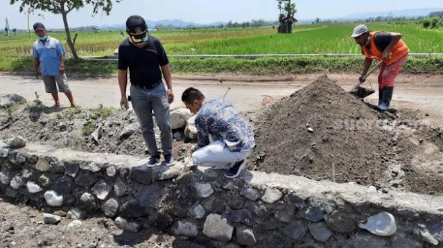Anggota DPRD Blitar Mengamuk di Proyek Saluran Irigasi, Ini Masalahnya