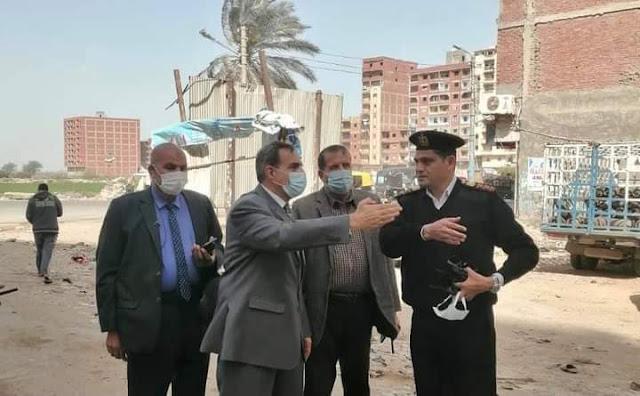 محافظ كفر الشيخ يتفقد أعمال التطوير بغرب وشرق العاصمة