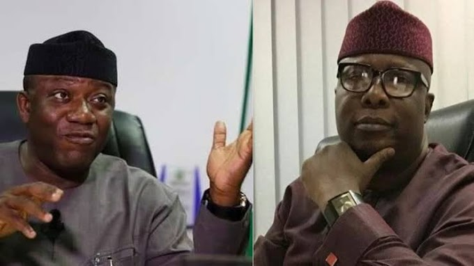 APC Crisis: Governor Fayemi slams Presidential aide over 'fabricated report' on visit to Buhari