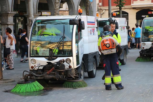 Brigadas de limpieza de calle