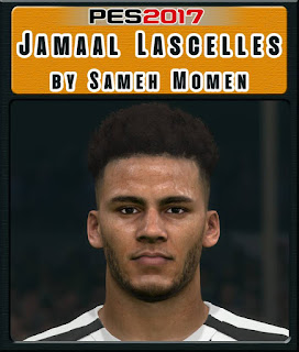 PES 2017 Faces Jamaal Lascelles by Sameh Momen